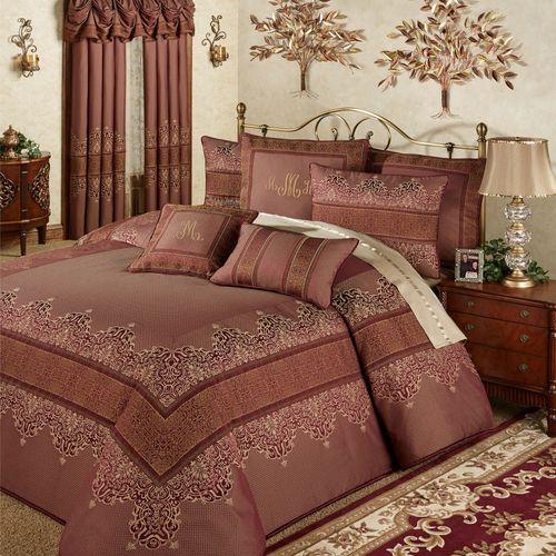 Eastleigh Grande Bedspread Ruby