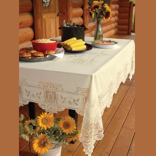 Antique Lace Oblong Tablecloth