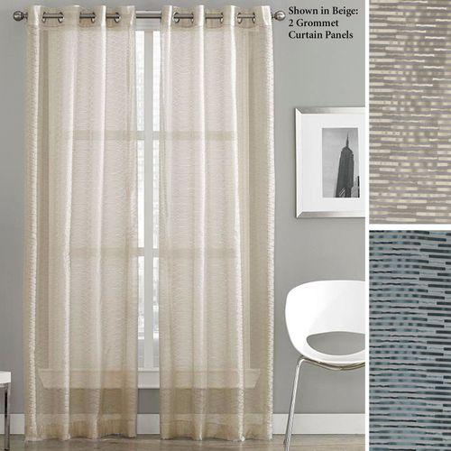 Milos Grommet Sheer Curtain Panel 50 x 84