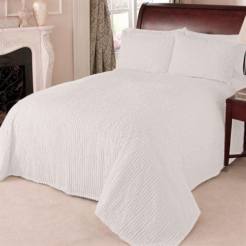 Channel Chenille Bedspread