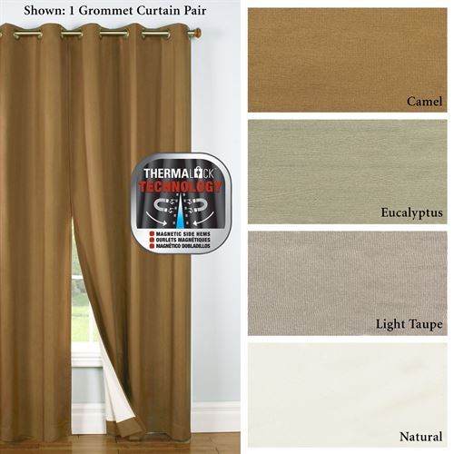Four Seasons Grommet Curtain Pair
