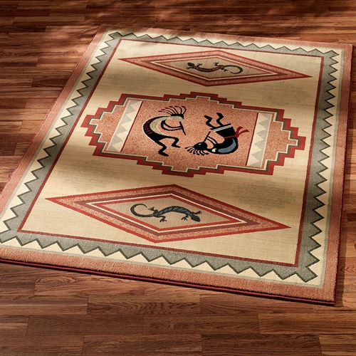 Kokopelli Dance Area Rug