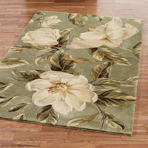 Southern Beauty Magnolia Area Rugs