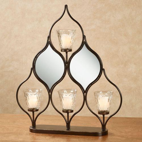 Shanley Candelabra Table Accent Bronze