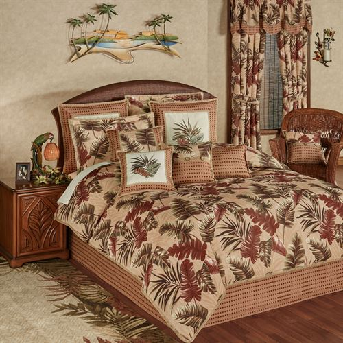 Key West Comforter Set Multi Warm