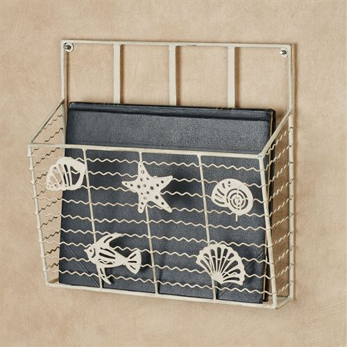 Coastal Wave Wall Magazine Rack Single