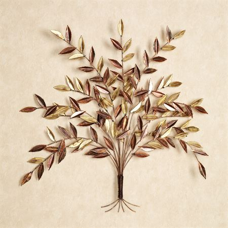 Autumn Elm Metal Wall Sculpture Multi Metallic