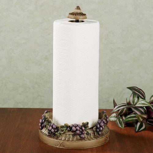 Castello di Vina Paper Towel Holder Purple