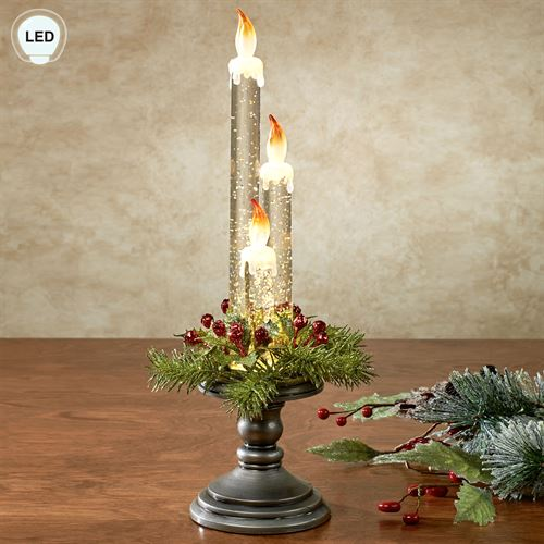 Holiday LED Candle Accent Multi Warm
