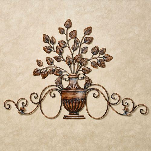 Majestic Urn Wall Decor Bronze