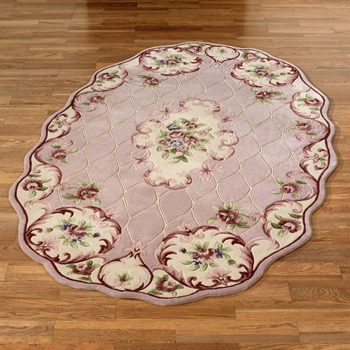 Marquis Floral Oval Rug