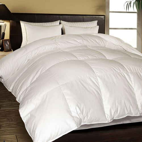 European Down Comforter White