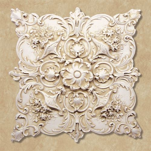 Fiorenza Wall Plaque Antique Ivory