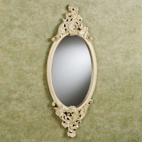 Rose Marie Oval Wall Mirror