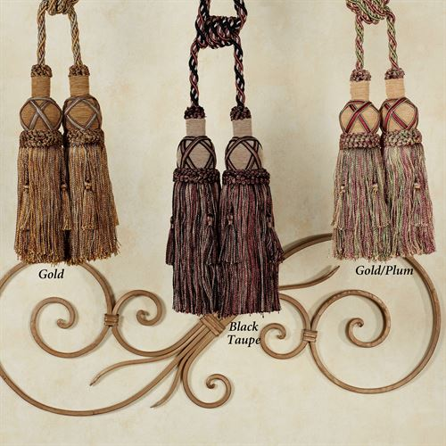 Decorative Double Tassels Cords