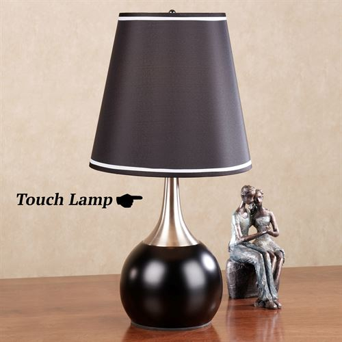 Briley Black Touch Lamp