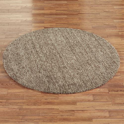 Frosted Luxury Round Rug