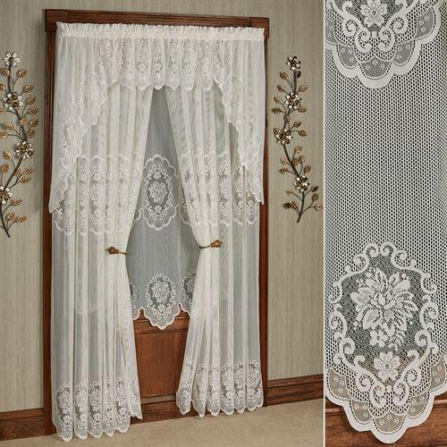 Fairmount Lace Tailored Curtain Panel