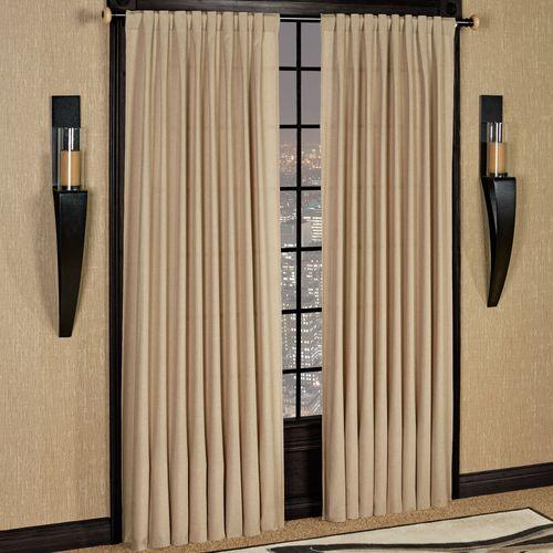 Glasgow Back Tab Curtain Panel