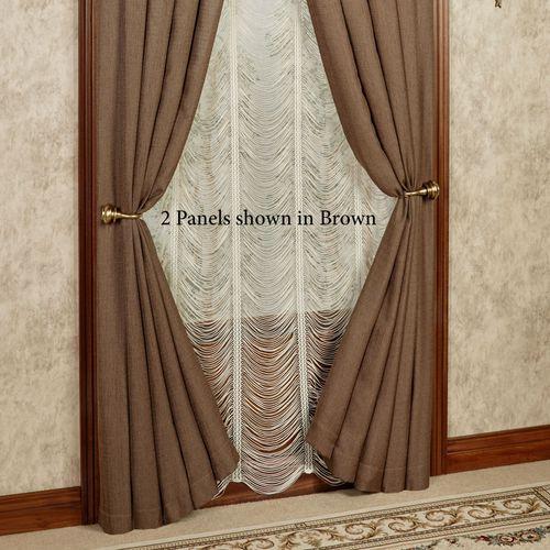 Leigha Tailored Curtain Panel 54 x 84