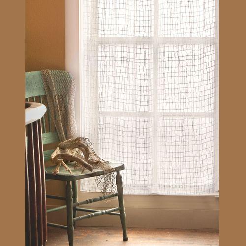 Seacoast Tailored Curtain Panel White