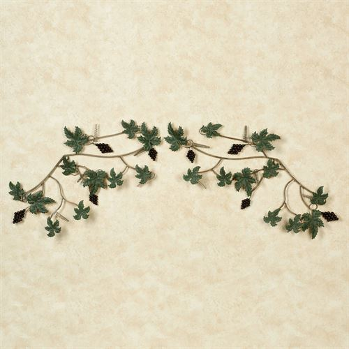 Vina Bella Grapes Metal Wall Decor Set