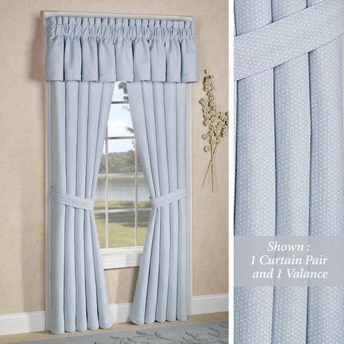 Abigail Adams Tailored Curtain Pair