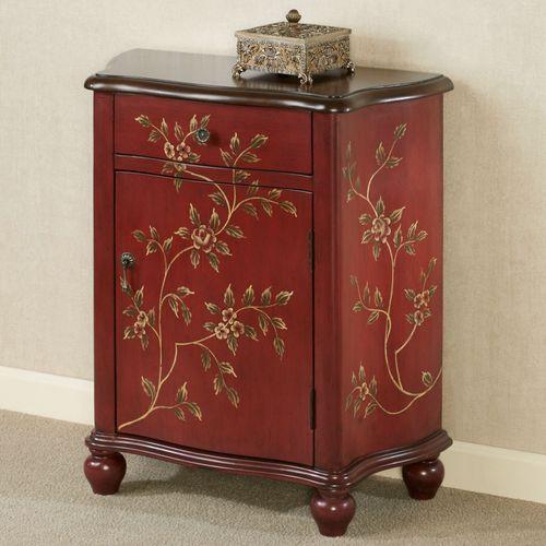 Gracelinn Storage Cabinet Merlot