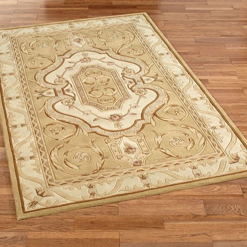 French Legacy Rectangle Rug Antique Gold