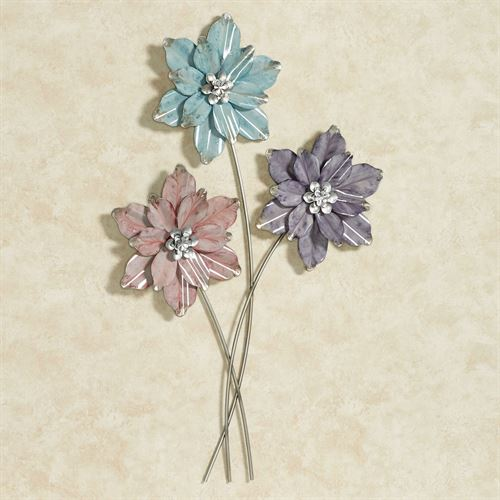 Summer Blooms Wall Art Multi Pastel