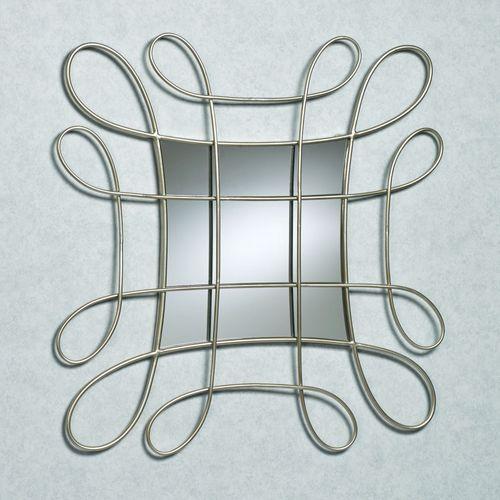 Ornella Mirrored Wall Art Light Gold