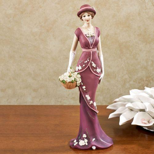 RoseAnne Vintage Figurine Zinfandel