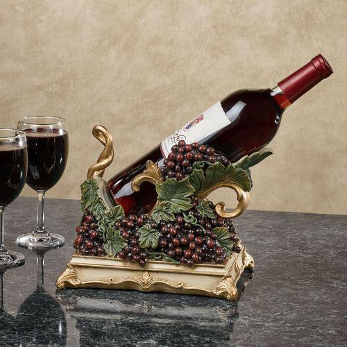 Vigne Elegante Wine Bottle Holder Dark Red
