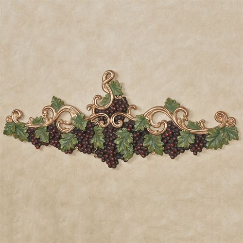 Vigne Elegante Wall Topper Dark Red