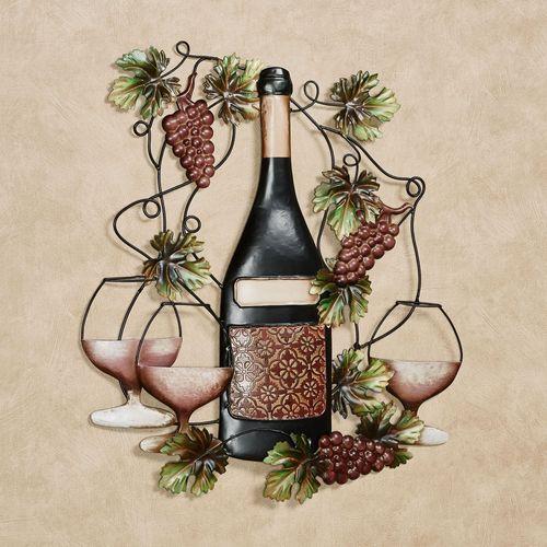 Port Classique Wine Bottle Wall Art Port