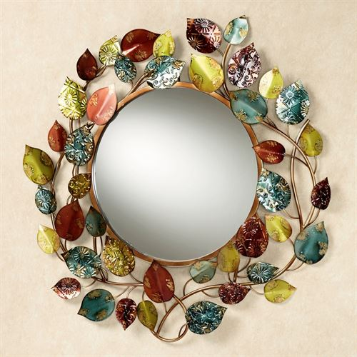 Autumn Array Wall Mirror Multi Earth