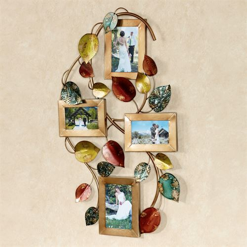 Autumn Array Photo Wall Art Multi Jewel