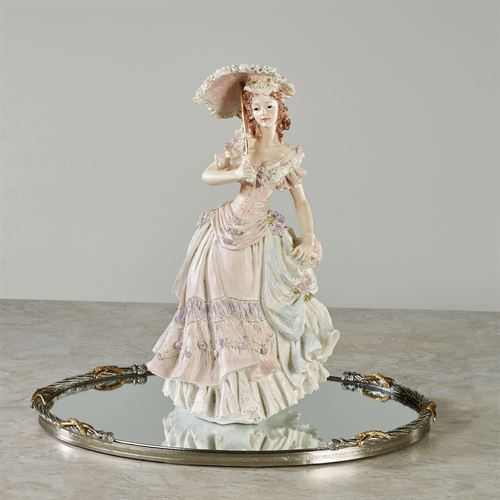Victorian April Lady Figurine Multi Pastel