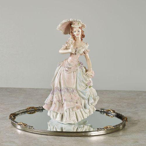 Victorian April Lady Figurine Multi Pastel