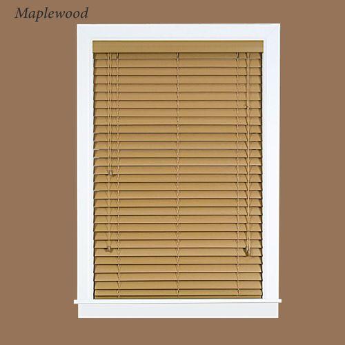Faux Wood Plantation Window Blind