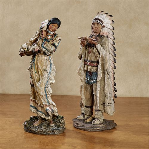 Majestic Tradition Figurines Multi Earth Set of Two