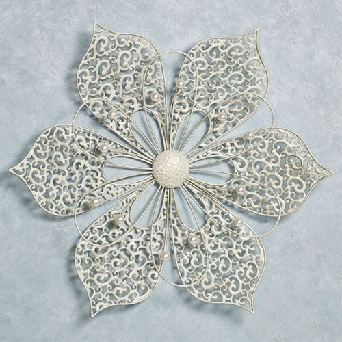 Pretty Petals Wall Art Ivory
