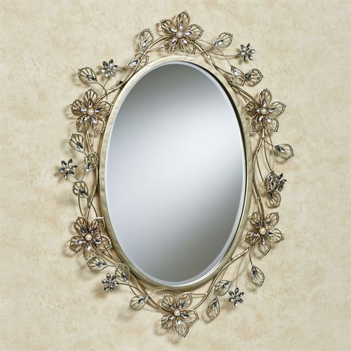 Rosianna Wall Mirror Champagne Gold
