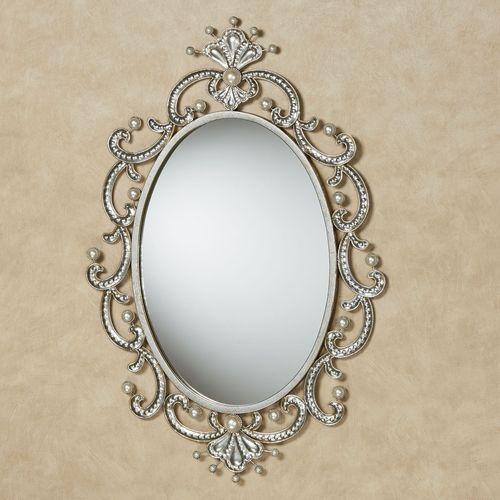 Giorgianna Wall Mirror Champagne