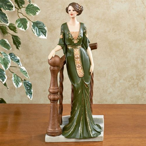 MaryAnne Vintage Figurine Green