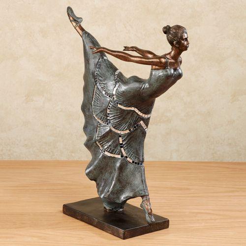 Le Dancer Figurine Verdi Bronze
