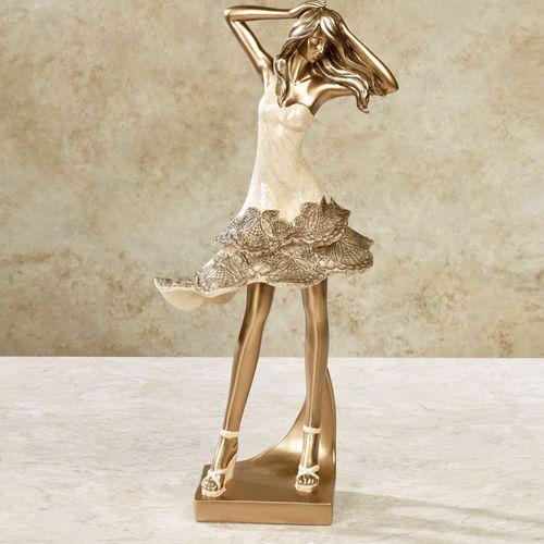 Couture Elegance Figurine Champagne
