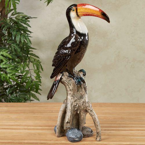 Toucan Table Sculpture Black