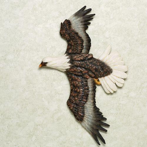 Majestic Eagle Wall Art Multi Warm