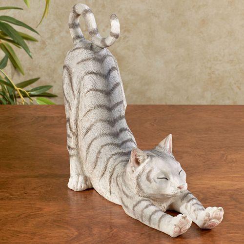 Sox Cat Sculpture Gray